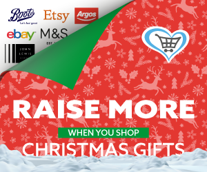 Xmas Shopping Reminder - Raise Money for Space (Aylesbury) with Give As You Live