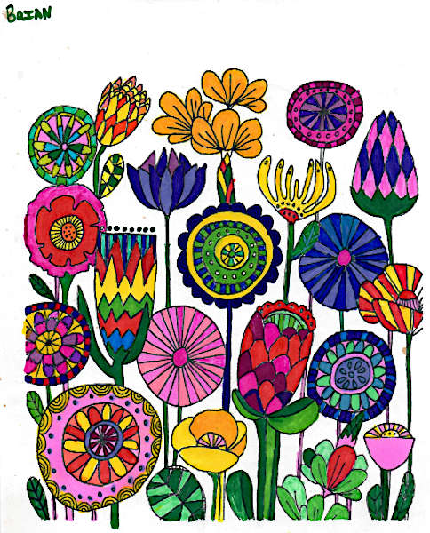 Minfulness colouring pictures0005