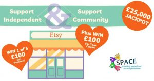 Buckinghamshire Lottery – ETSY Vouchers