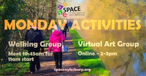 Monday Activities with Space (Aylesbury)