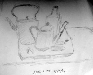 kettles and bottle