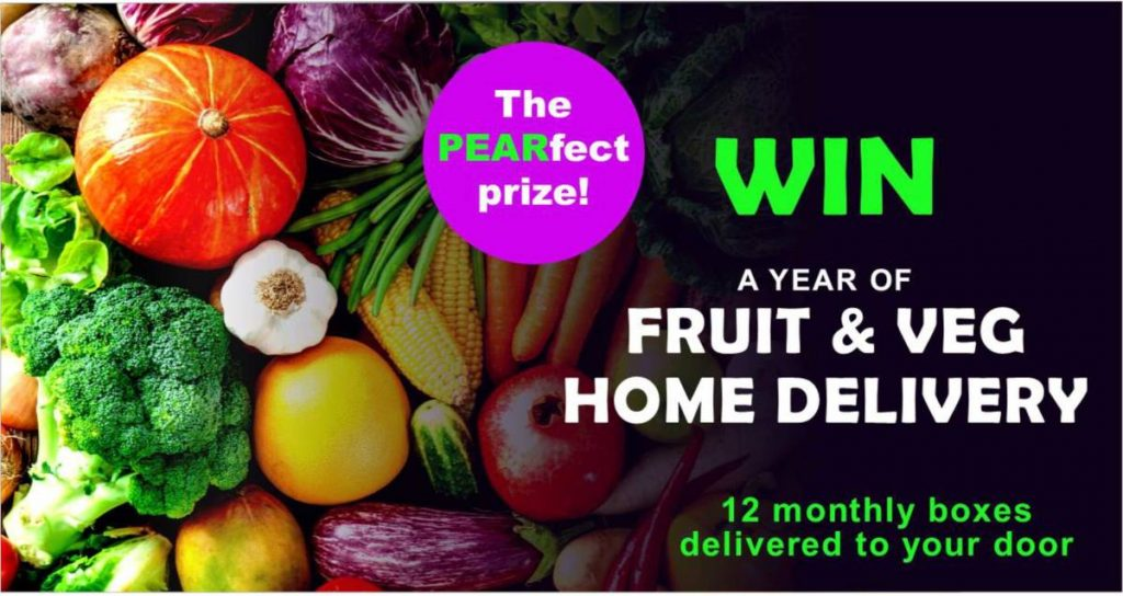 vale lottery fruit veg box
