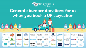 Support Space with Give As You Live