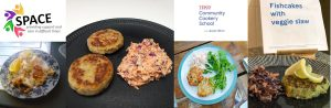 Tesco Community Cooking – Fishcakes & Veggie Slaw