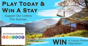 Bucks Lottery – Support Space and Win a Staycation