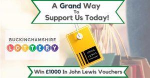 Buckinghamshire Lottery John Lewis Vouchers