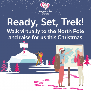 Virtual walking challenge to the North Pole
